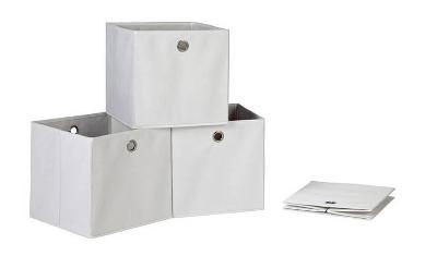 TEXTILNÍ ÚLOŽNÉ BOXY 4 KUSY 4848/V lll