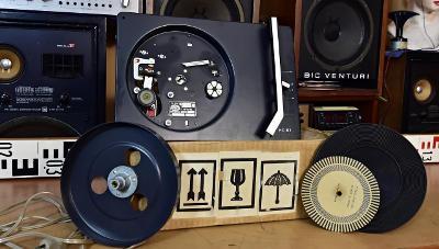 Gramofon šasí SUPRAPHON HC 07 (16-33-45 ot) bez přenosky (178164)