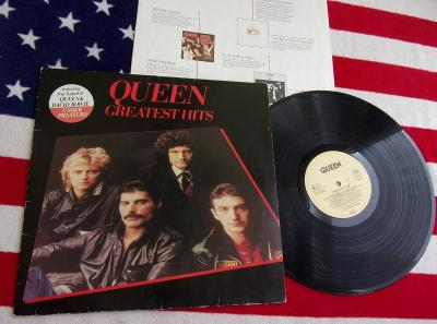 🔴 LP: QUEEN - GREATEST HITS, original EEC pressing 1981