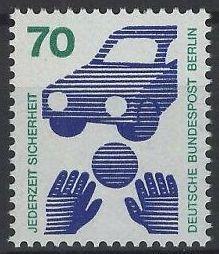 Západní Berlín / West Berlin 1973 Mi.453 MNH **