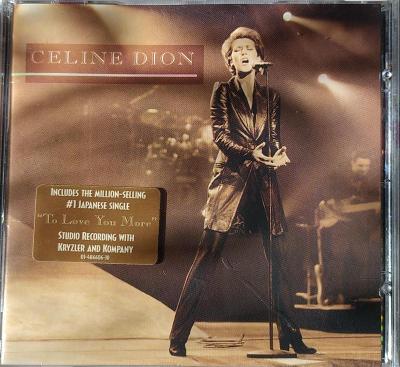 CD Celine Dion – Live A Paris