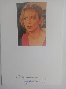 Autogram ... Ivana CHÝLKOVÁ ...