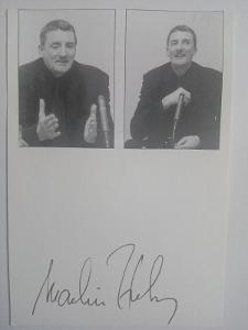 Autogram ... Martin HUBA  ...