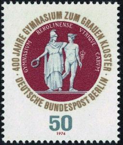 Západní Berlín / West Berlin 1974 Mi.472 MNH **