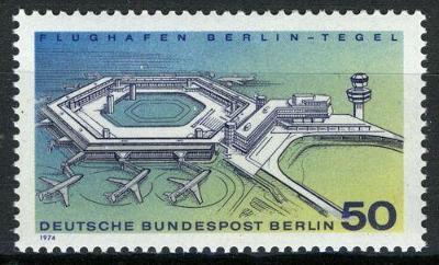 Západní Berlín / West Berlin 1974 Mi.477 MNH ** letiště