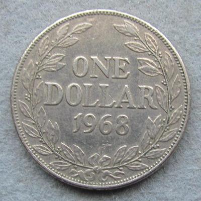Libérie 1 dolar 1968