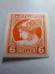 ANK 1916 Polní pošta č. 50 *  střížené hledané od korunky!!!!!