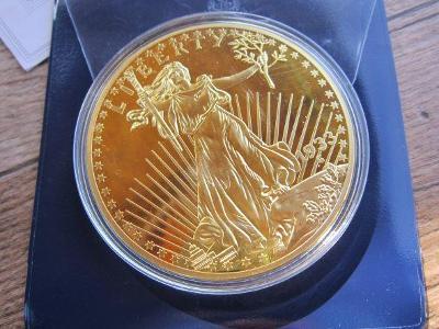 zlatý orel 1933 , pamětní mince