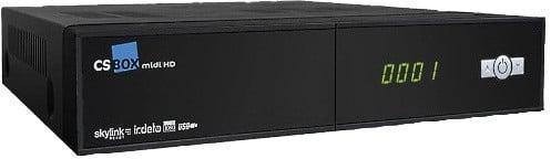 Satelitní přijímač pro sledování vysílání DVB-S/S2 CS Box midi HD