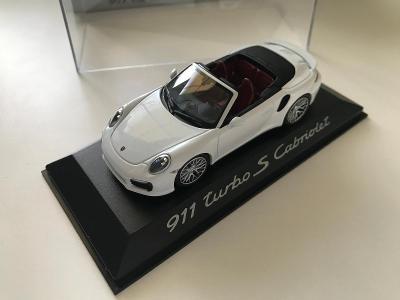 1:43 Porsche 911 Turbo S cabrio Minichamps