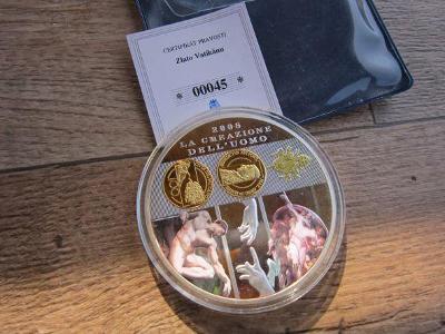 pamětní mince,medaile  Zlato Vatikánu