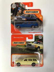Matchbox Mercedes 2 varianty