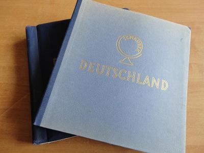 Zbierka známok DDR - 2x album Schaubek