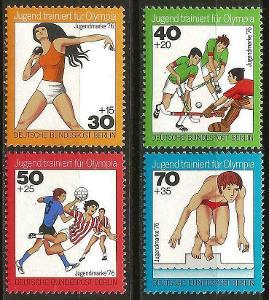 Západní Berlín / West Berlin 1976 Mi.517-520 MNH ** sport