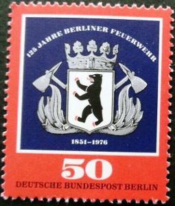 Západní Berlín / West Berlin 1976 Mi.523 MNH **