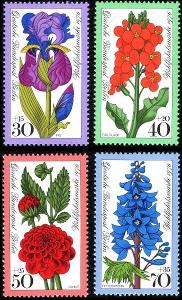Západní Berlín / West Berlin 1976 Mi.524-527 MNH ** flóra-rostliny