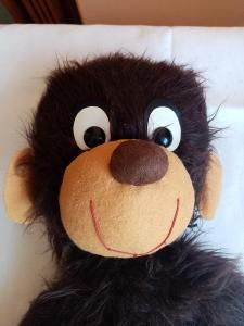 Veselá opice, opička - retro