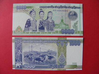 1.000 Kip 2008 Laos - P39 - UNC - /Y24/
