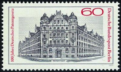 Západní Berlín / West Berlin 1977 Mi.550 MNH **