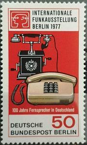 Západní Berlín / West Berlin 1977 Mi.551 MNH **