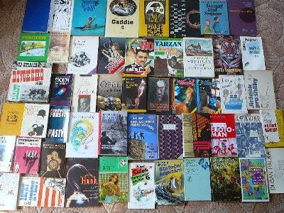 50 ZAJÍMAVÝCH  knih - extra cena za vše