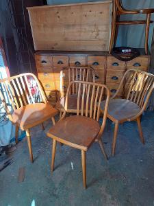 Staré židle Ton