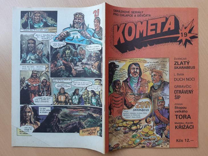 Kometa 18, 19, 20, 21 - Komiksy