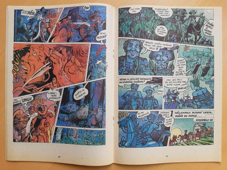 Kometa 25 - Komiksy