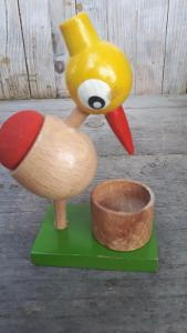 Dřevěná hračka Kuře