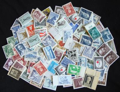 Sbírka známek staré Rakousko (po válce), hodně **! Mnoho vyšší katalog