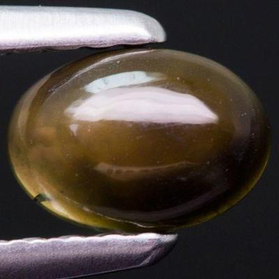 Opál Black, hezký, leštěný 0,33ct (7989)