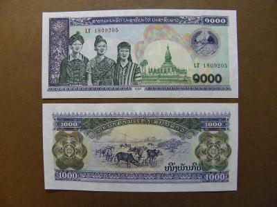 1.000 Kip 1998 Laos - P32Aa - UNC -  /X320/