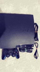 PS3 160 GB HDD-OVLADAČ-KABELÁŽ