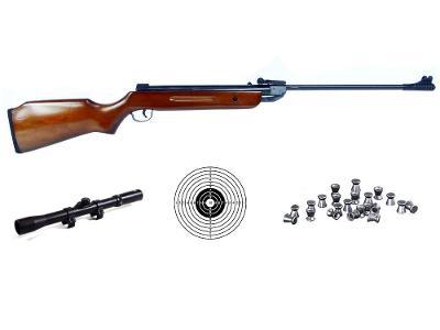 Vzduchovka B2 set s puškohledem 5,5mm