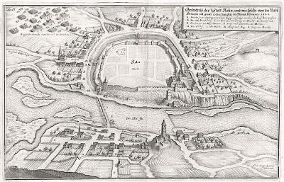 Kolín, Merian M., mědiryt 1650