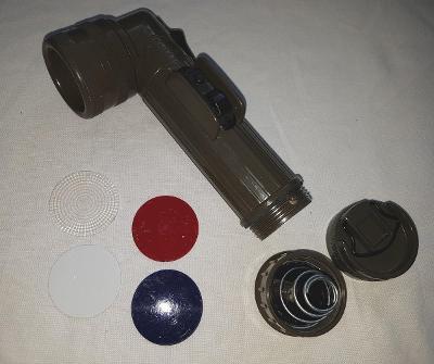 US ARMY - Olive FULTON MX-991/U, svítilna, baterka, fajfka #5