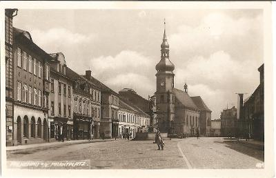 SOKOLOV (Falkenau an der Eger) - náměstí