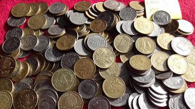 Mince Řecko 1.7 kg vysoké nominály, dobrá směs