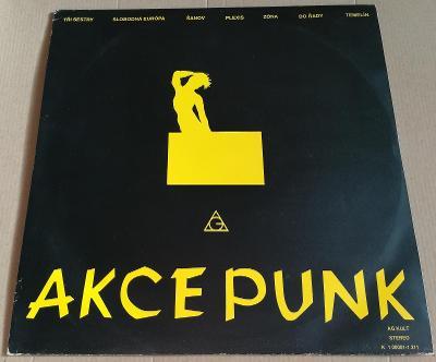 LP AKCE PUNK /NM, TOP STAV, 1990