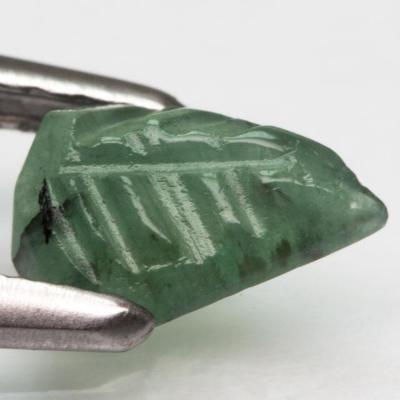 Smaragd Glyptika, pěkný 0,43ct (7801)