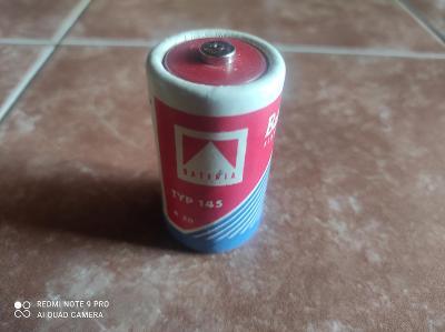 Stará Baterie Typ 145 / slaný / originál od hraček Ites / krásný stav!