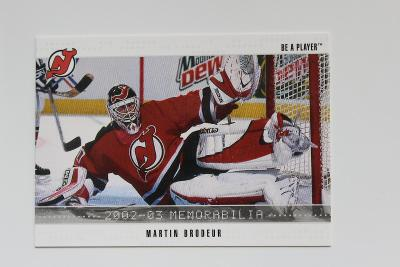 Martin Brodeur Be A Player