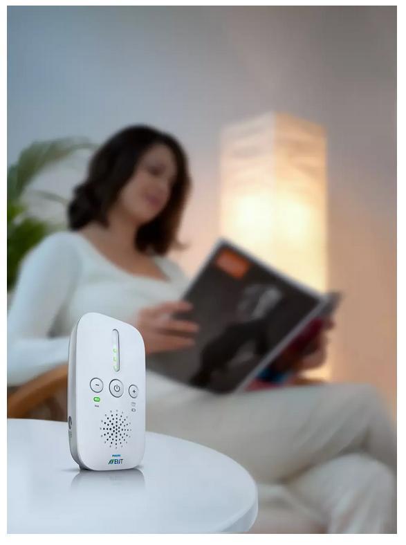 Elektronická chůva DECT  PHILIPS SCD502/52 - Péče o kojence a batolata