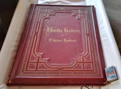Goethe's Frauengestalten/ 21 Rytin /vzácná gigantická edice / r.1864
