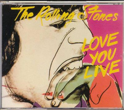 2 CD  Rolling Stones - Love You Live  (1977)  Japan