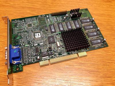 RETRO HW - Grafická karta 3Dfx Voodoo 3 2000, 16MB, PCI