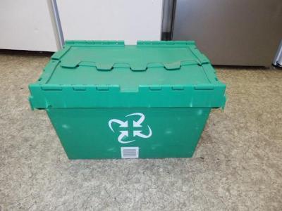 uzavírací stohovatelná plastová přepravka Integra, se zárukou