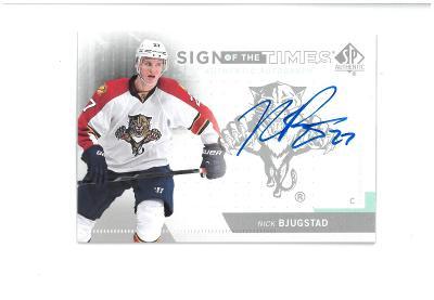 Nick Bjugstad - Florida Panthers - autographed