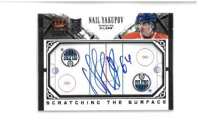 Nail Yakupov - Edmonton Oilers - autographed