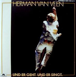 Herman Van Veen – Und Er Geht Und Er Singt CD 1984 jako nove NM